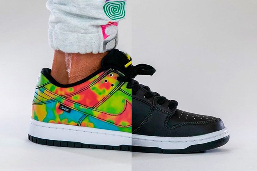 How the Civilist x Nike SB Dunk Low Thermography Looks On-Feet