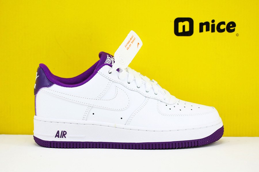 Nike Air Force 1 Low White Voltage Purple