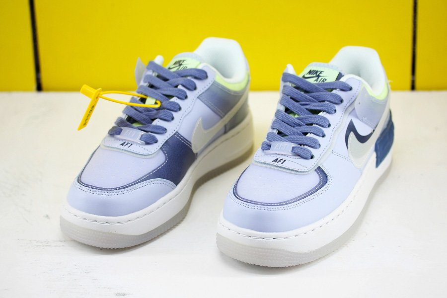 Nike Wmns Air Force 1 Shadow Se Ghost World Indigo Ck6561 001 Wmns air force 1 shadow 'hydrogen blue'. nike wmns air force 1 shadow se ghost